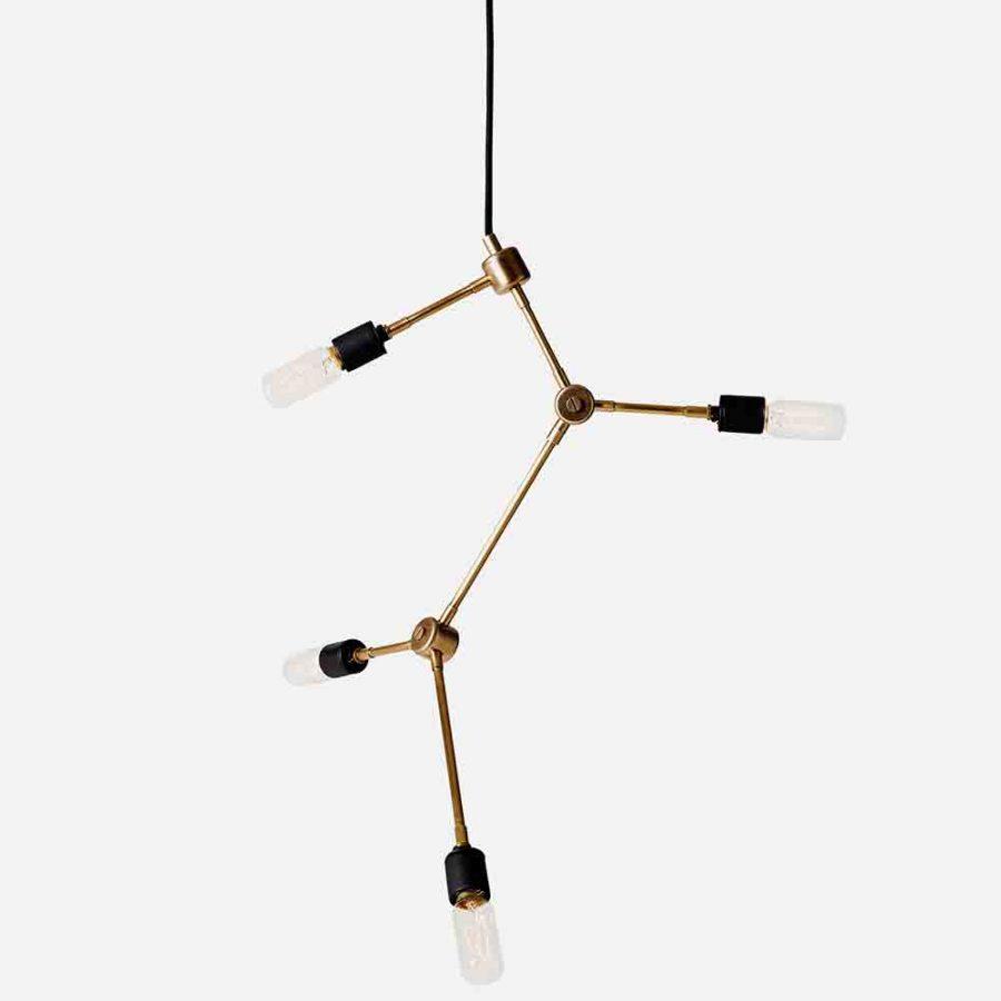 franklin chandelier brass2
