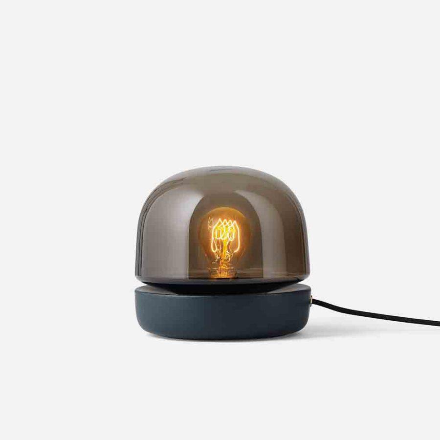 stone lamp black