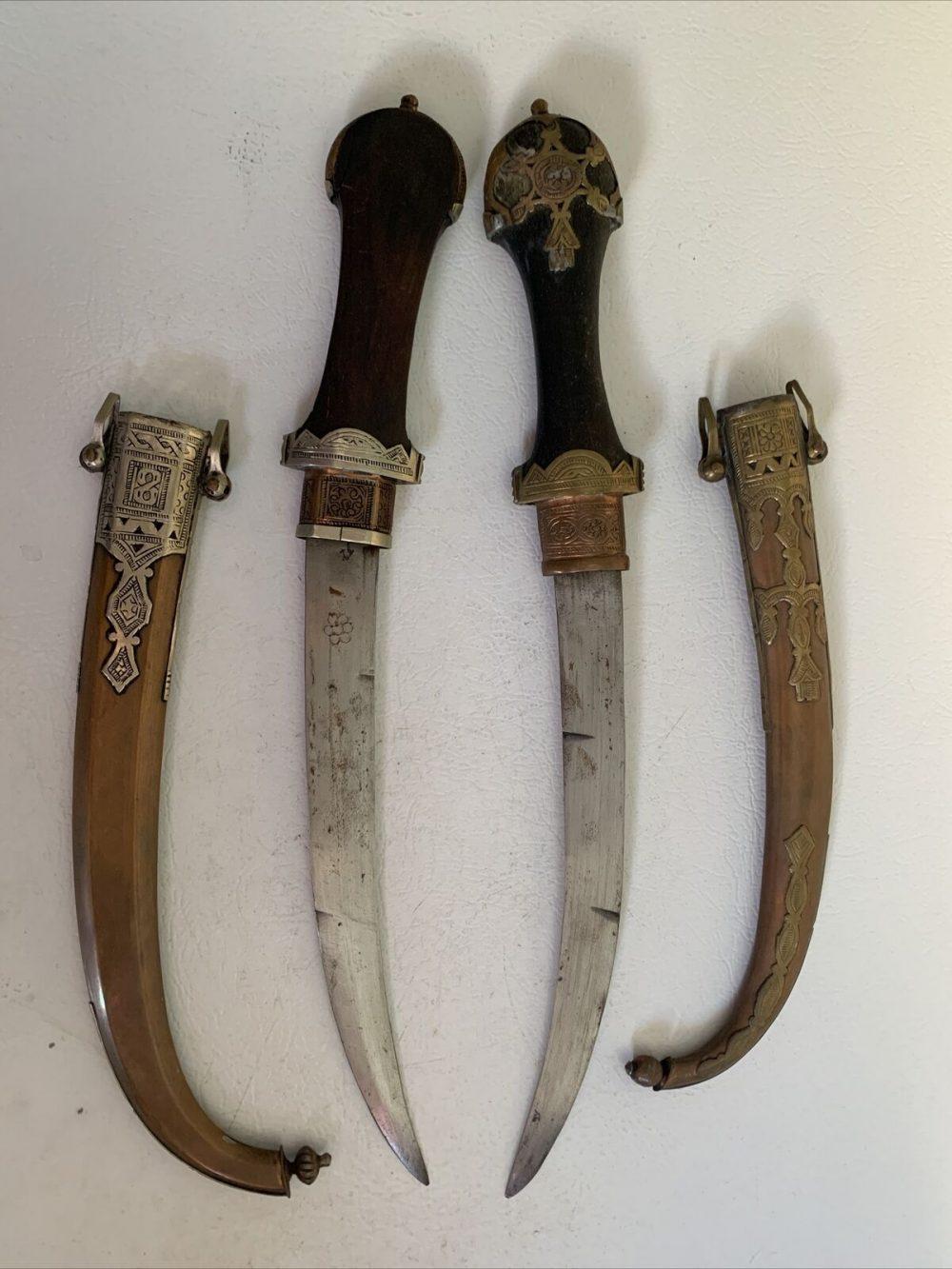 2 Moroccan Ceremonial Daggers
