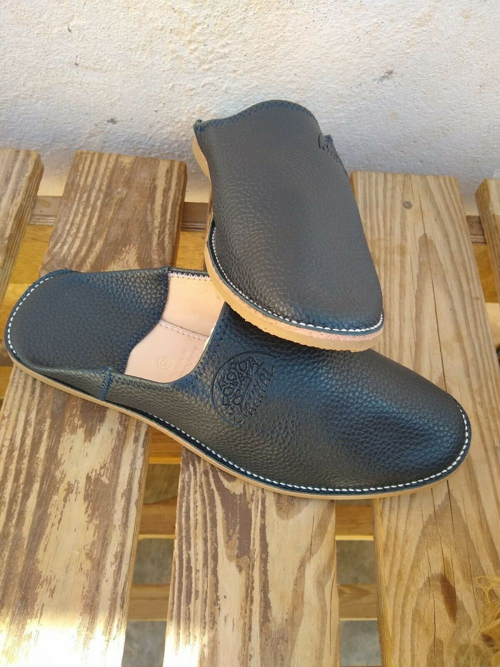 Authentic Handmade Moroccan Leather Slippers Babouche UK sizes 4-11 available