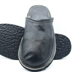 Babouche slippers men sheepskin slippers men house slippers Moroccan slippers QWQW