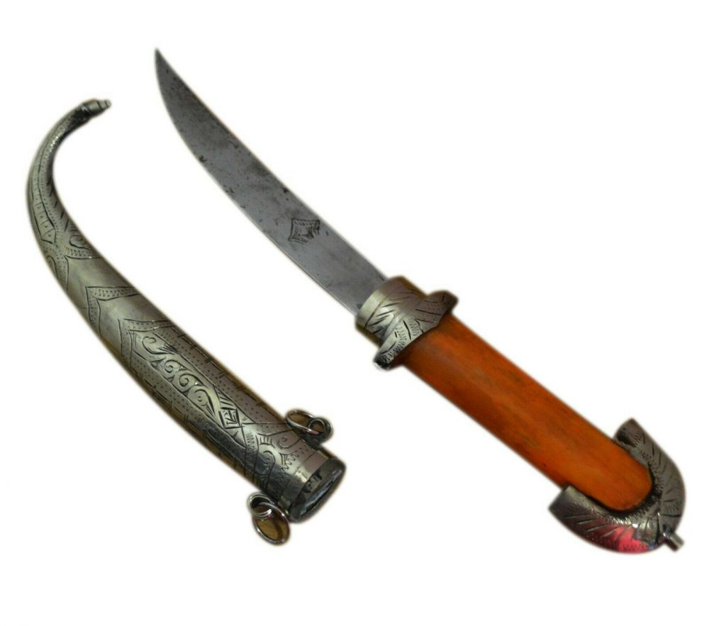 Brass Handmade Moroccan Knife Dagger
