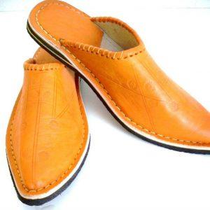 Slipper Moroccan Leather Sewn or1 Shoe Mule Slipper Sandal