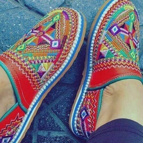 Women's Shoes BabouchesTraditional moroccan berbers Handmade Slippers