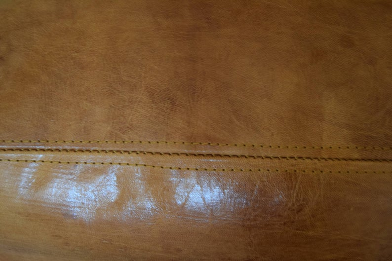 BEST OFFER 20% OFF !!! Free Shipping Moroccan leather, ottoman rectangular pouf, light tan handmade footstool,Morocco pouf