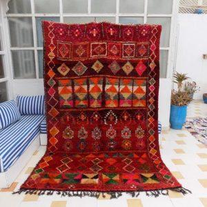 Beni Mguild Rug, Moroccan Rug, Vintage Beni Rug, Moroccan Beni Rug, Large Moroccan Rug, Bohemian Rug, Berber Rug