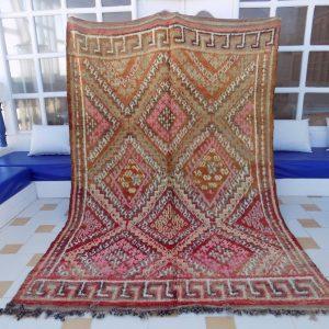 Beni Mguild Rug, Moroccan Rug, Vintage Beni Rug, Moroccan Beni Rug Large , Moroccan Rug, Bohemian Rug, Berber Rug, Vintage Beni Rug 2.88mx2m