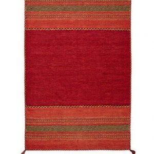 Red Kilim Rug, Moroccan Rug, Moroccan Kilim Carpet, Tribal Floor Rug, Handmade Red Kelim, Boho Style Rug, 70 x 140cm