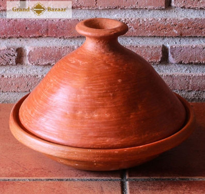 Eco Moroccan Cooking Tagine by Oued Laou northern Morocco Hand Crafted