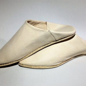 Naturel leather Slippers Handmade Babouche morrocan slippers Traditional babouche slippers For Women and for Men traditional shoes