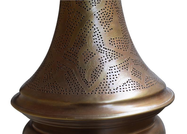 Gold Brass Moroccan Lamp,Pendant Lighting,Moroccan Pendant Lamp,ceiling light,Pierced ceiling light,Modern Moroccan Lamp