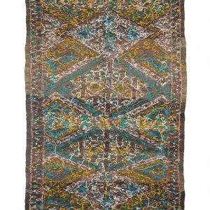 1990's Vintage Moroccan Kilim Rug - Siham - 165/95cm