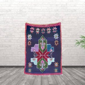 vintage moroccan rug boucherouite rug berber rug