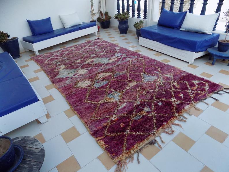 Beni Mguild Rug, Moroccan Rug, Vintage Beni Rug, Large Moroccan Rug, Bohemian Rug, Berber Rug, Vintage Beni Mguild Rug