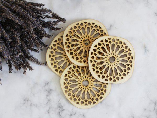 Moroccan Tile Coasters | Moroccan Ceramic Coasters