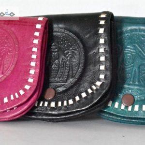 Moroccan leather wallet, Camel Morocco, handmade leather, black purse, leather purse, leather purse, wallet woman, wallet man, unisex