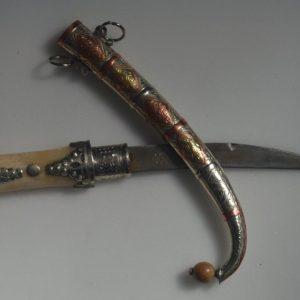 Handmade Moroccan Straight Dagger Knife Bone Moroccan Dagger knife Handmade Blade, Decorative Dagger, Handmade Dagger Decor