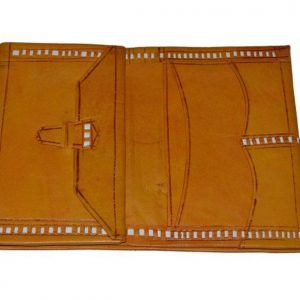 Large Moroccan Leather Wallet, Moroccan Purse, Boho Style, Bohemian Wallet