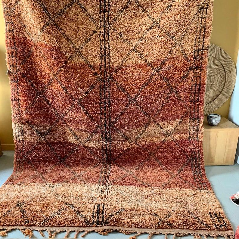 Vintage Beni Mguild Moroccan Rug   Rugs Beni Mguild   Beni Mguild Moroccan Carpets