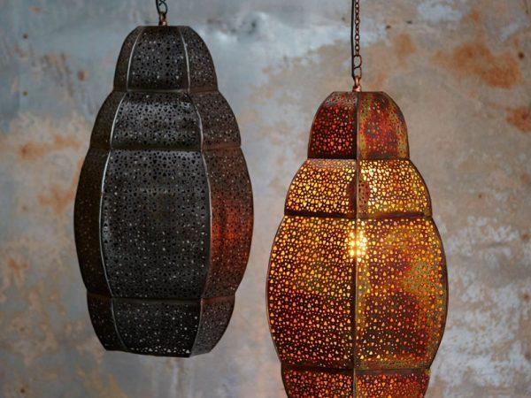 Handmade Large Pendant Ceiling Light - Bohemian Decor - Moroccan Lights - Handcrafted Ceiling Lamp - Loft Lantern - Unique Hanging Light