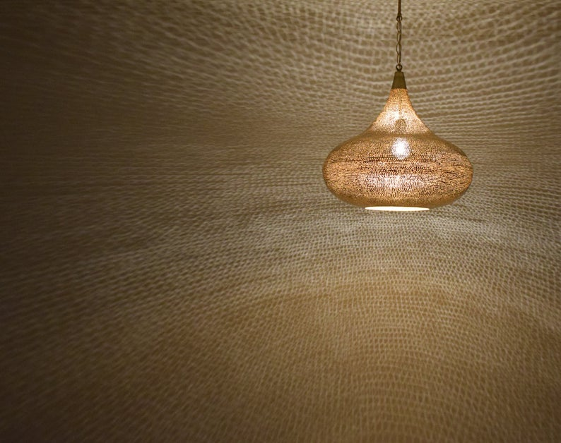 Moroccan Pendant Light,Pendant Lighting,Moroccan Pendant Lamp,ceiling light,Pierced ceiling light,Modern Moroccan Lamp