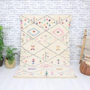Beni ourain rug- Authentic Moroccan Rug- Custom Beni Ourain rug- Beni Rug- Large Moroccan Rug- Colorful beni Rug- Custom rug