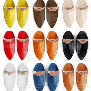 LEATHER SLIPPERS, MOROCCO Shoe, Comfortable Leather Mule for Men & Women. Morocco Slippers Handcrafted by Our Best Craftsmen.