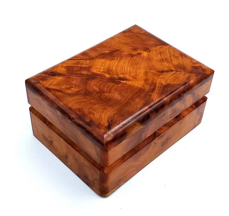 Thuya Burl Boxes and Bowls