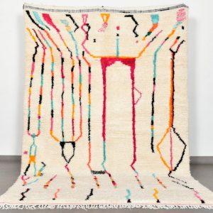 Azilal Rug - Moroccan Rug - Colorful Moroccan Rug - Colorful Rug - Morrocan Rug - Berber Rug Beni Ourain Rug Boho Rug Morrocan Rug Custom