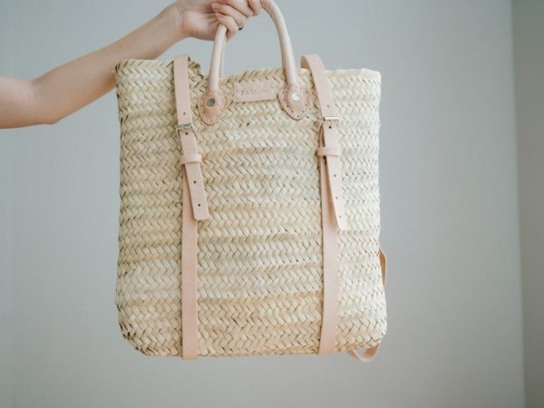 Moroccan straw bag | Straw Bag Morocco | Moroccan Leather Bags