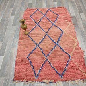 3x5 vintage berber rug, azilal berber rug, moroccan azilal rug, tribal rug, boho rug, moroccan rug.