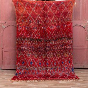 Beni mguild rug 8x5 ft - morocco rug - tapi berbere #192