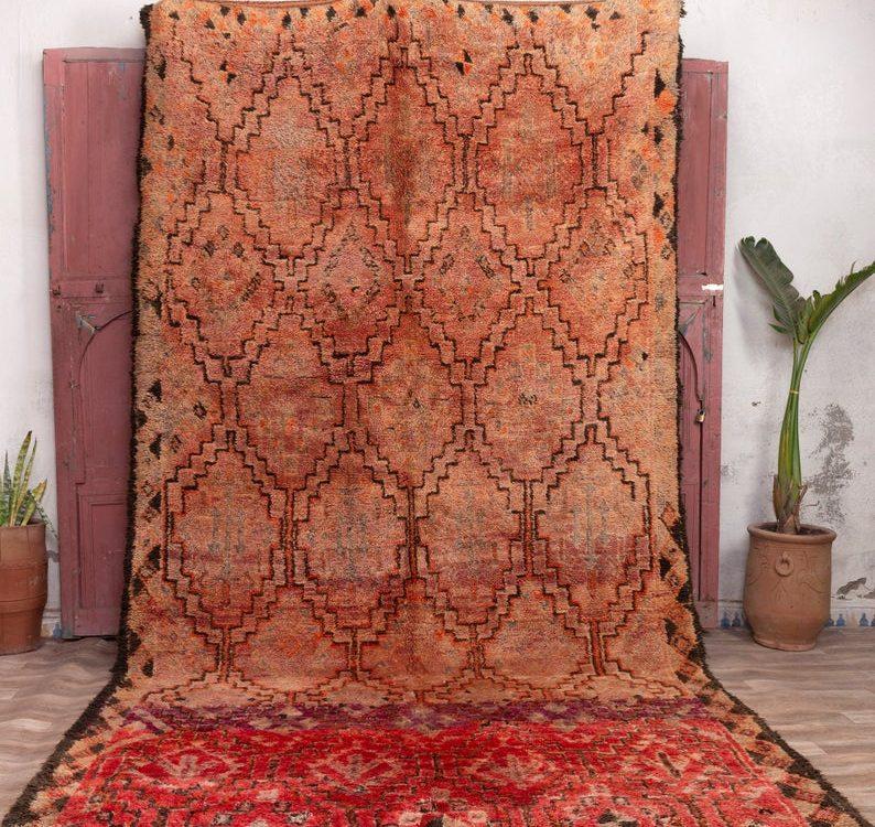 Beni mguild rug 13x6 ft - Morrocan rug - carpet morocco #22