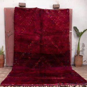 Beni mguild rug 11x7 ft - vintage morrocan rug - tapi berbere #94
