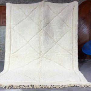 Soft Beni ourain rug Authentic Moroccan rug, Berber carpet,rug, Handmade rug, Beni ourain style, Area rug, Tapis berbere