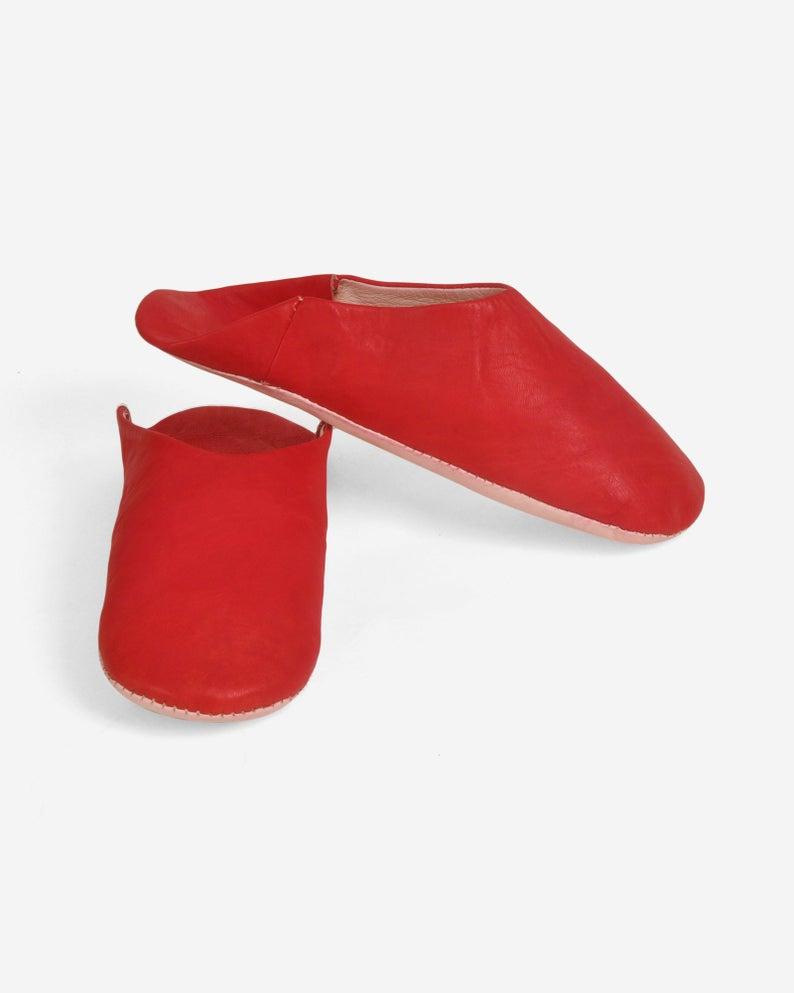 BABOUCHE SLIPPERS MEN | Babouche Slippers Women | Leather Slipper | Moroccan Slippers