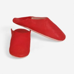 Moroccan Handmade Slippers || Leather Unisex Babouches || Babouche Shoes || Moroccan Babouche Dyed With Natural Colour