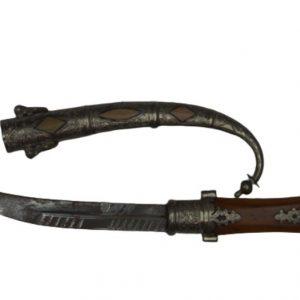 Khanjar, Dagger knife Islamic Sword Arabic Jambiya Handmade Blade, Decorative Dagger, Handmade Dagger Sheath Gift Handle