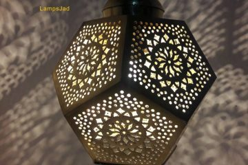 Small Moroccan Hanging Pendant Lamp - Moroccan Ceiling Lamp
