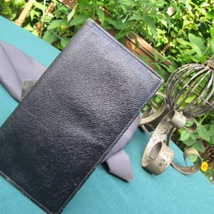 MOROCCAN LEATHER WALLET made in England, Large Bi-Fold Wallet, Large Wallet, Hand made Moroccon of very soft leather, Large Bi-fold Wallet