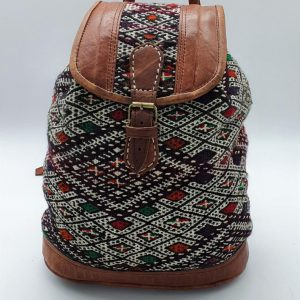 Handcrafted backpack from Morocco