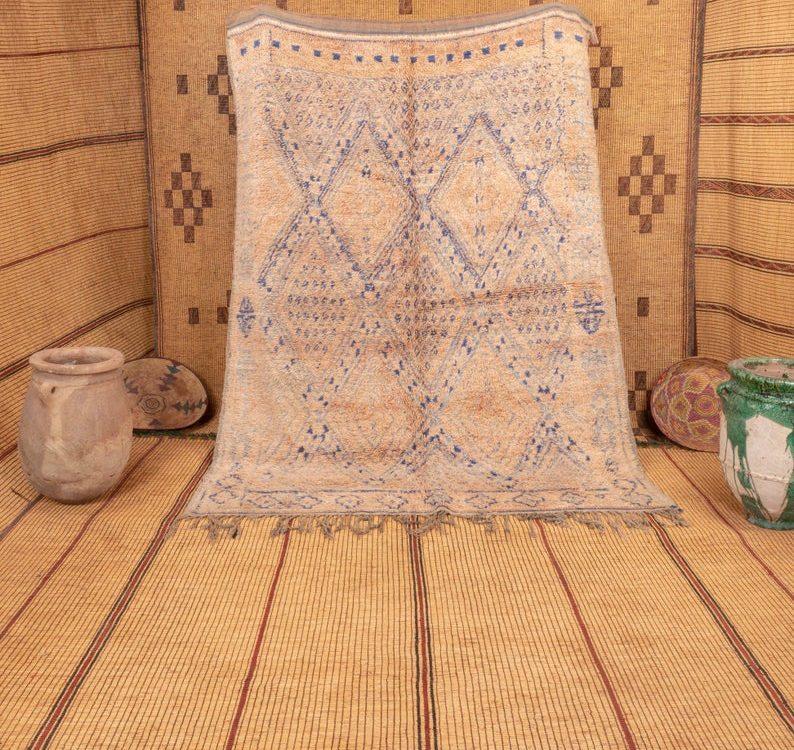 Beni mguild rug 8x6 ft - morocco rug - tapi berbere #509