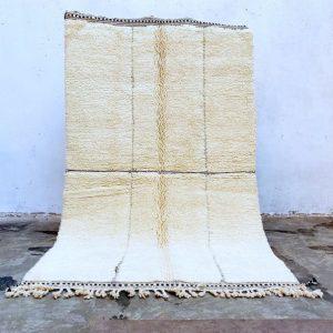 Beni ourain rug 5x8, Berber carpet, wool area rug, Handmade rug, Beni ouarain carpets, Oriental rug, Tribal rug, Teppich, Tapis berbere