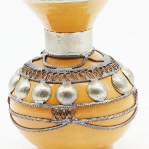 small moroccan vase