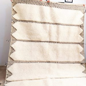 Beni ourain rug 8.4 x 5.1 Moroccan rug Beni Ourain carpet, Soft thick wool handmade berber rug