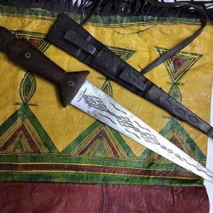 Tuareg Tedda (Tubu) dagger - North Africa dagger , ethnic dagger, tuareg vintage dagger