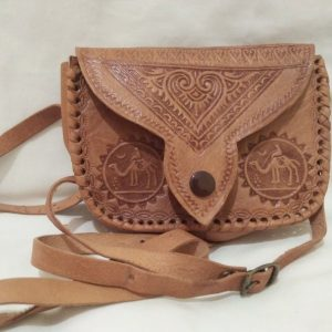 Handmade genuine leather purse (ideal as a gift)