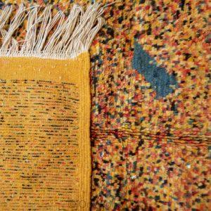 Small Handmade Berber Rug, Moroccan Azilal Rug, Authentic Wool Rug, Handmade Moroccan Rug, Vintage Berber Rug