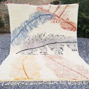 8x10 Moroccan rug Beni ourain rug Vintage azilal rug Tapis berbere beniourain Mrirt handwoven rug Berber kilim rug Beni teppich alfombras