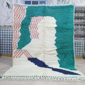 8.4/5.9feet hallway Moroccan rug,azilal rug,berber rug,tapis azilal,beni ourain,tapis marocain,tapis berber,handmade rug,beniourain